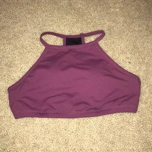 Tops - High neck bra top